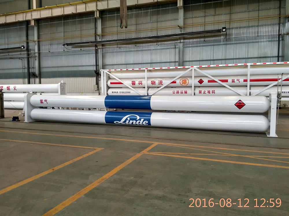 Industrial gas storage