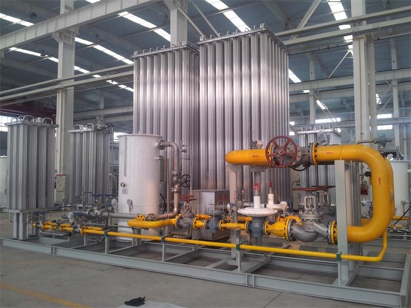 Regasification Regulating Metering Station 1