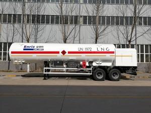 China Manufacturer for CNG Cylinder Cost - LNG transport semi-trailer – Enric